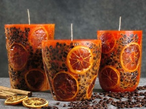 decorative candle 3